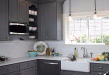 Model kitchen set