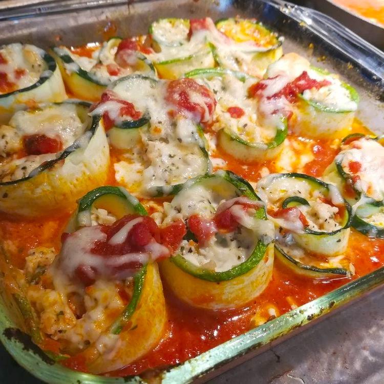 lasagna gulung ayam zuchini