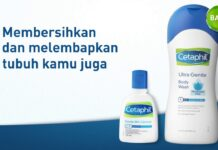 cetaphil ultra gentle body wash